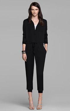 Womens Pant - Darain Silk Jumpsuit - Theory.com $365