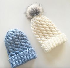 Ravelry: Pernilles flettelue pattern by Tonje Haugli Knit Mittens, Knitted Hats, Diy And Crafts, Arts And Crafts, Baby Knitting Patterns, Beanie Hats, Beanies, Ravelry, Free Pattern