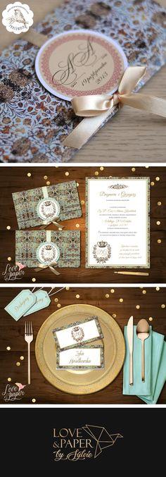 17 Best Zaproszenia Images On Pinterest Bridal Invitations