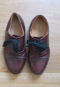 Vintage Leather Brogues