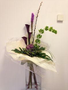 Form linea in vase