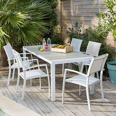 Ferrol Table de jardin rectangulaire en Durawood®