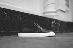 Giuseppe Zanotti London Low Slip-On - Black   Kith NYC