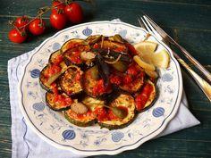 Vöröskaktusz diétázik: Sült zöldség saláta olasz módra Shrimp, Paleo, Meat, Food, Essen, Beach Wrap, Meals, Yemek, Eten