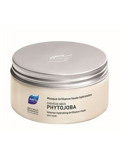 5 beauty picks we're obsessing over: Phyto Phytojoba Intense Hydrating Brilliance Mask is as effective as the densest formula out there, but repairs and hydrates with a lightweight blend of jojoba and guar gum Rebonded Hair, Phyto Paris, Hydrating Hair Mask, Natural Vitamin E, Natural Hair Tips, Deep Conditioner, Shiny Hair, Dry Hair, Hair Care