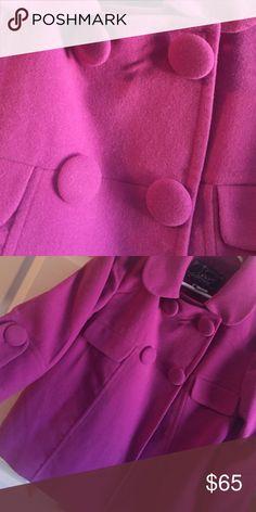 Magenta Coat! Bright and warm! Jack by BB Dakota Jackets & Coats