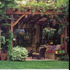Amazing Modern Pergola Patio Ideas for Minimalist House. Many good homes of classical, modern, and minimalist designs add a modern pergola patio or canopy to beautify the home. In addition to the installa. Backyard Patio, Backyard Landscaping, Pergola Patio, Cozy Patio, Rustic Patio, Wooden Pergola, Corner Pergola, Wisteria Pergola, Backyard Shade