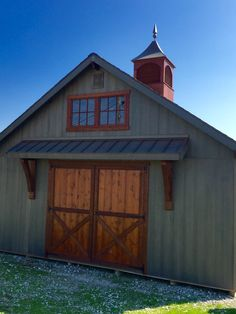 Tiny Living, Garage Doors, Shed, Barn, Cottage, Outdoor Structures, House Design, House Styles, Building