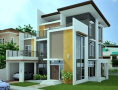 House Exterior Paint Designs In India