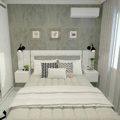 Bedroom closet vintage 52 ideas for 2019 Small Room Bedroom, Closet Bedroom, Trendy Bedroom, Bedroom Apartment, Home Bedroom, Bedroom Decor, Interior Design Living Room, Living Room Designs, Couple Room