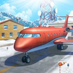 Airport City is much more than your average simulator. It takes the best of two worlds in just the right proportions: the sense of adventure from airplane games Unique Buildings, City Buildings, Flight Manager, Ipod Touch, City Building Game, Airplane Games, Free Games, Traveling By Yourself, Sims