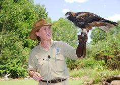 Ungeheuer eindrucksvoll: die Flugschau imTerritory Wildlife Park bei Darwin.