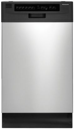 18 In. Built-In Dishwasher - Stainless Steel, 2016 Amazon Most Gifted Dishwashers  #MajorAppliances