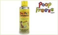 LMAO ! Really ? I had to share this ..Doggyloot - Buy One Can of Fart Terminator - When it happens, you just know. Eliminate the smell of your dog's farts fast with the Dog Fart Terminator. It provides instant stink relief, leaving your room with a clean, fresh scent. The spray has tough fart-fighting particles. Your nose will thank you! You'll get one 6oz can with this deal.