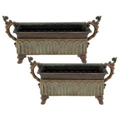 Import Collection Medici Rectangular Planter