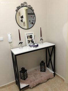Entryway Tables, Diy, Furniture, Home Decor, Decoration Home, Bricolage, Room Decor, Do It Yourself, Home Furnishings