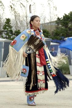 Canada First Nation's traditional dance.