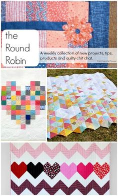 the Round Robin Edition 5- For the Love of it - Great projects and inspiration! #quilting #sewing #crafts #diy