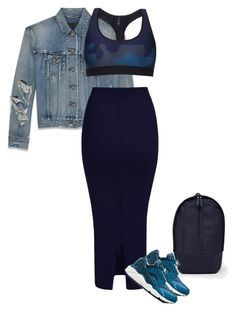 """""""Untitled #149"""" by luxshari ❤ liked on Polyvore featuring Yves Saint Laurent, Haerfest, Ultracor and NIKE"""
