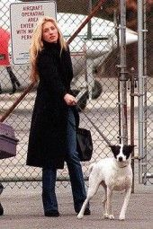 Carolyn Bessette Kennedy with Friday