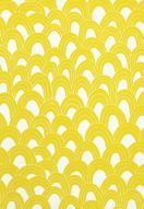 Fabric | Arches Print in Bamboo | Schumacher