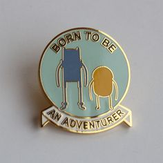 "Image of Adventure Time lapel pin <br></br><font color=""#BDBDBD"">Pin de Hora de Aventuras</font>"