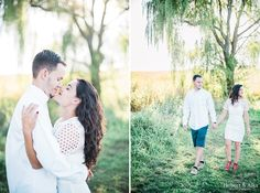 Gouveia Vineyards, Wallingford, CT Engagement Session Photos