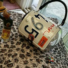 Ca.licence plate purse~ Excellent used condition Bags