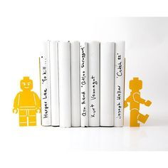 My son would go nuts for these lego bookends. Seach 'bookends lego' on dtll.com.au or click on the shopable link in our profile. #dtll #downthatlittlelane