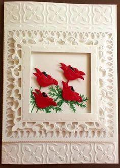 Red Prim Poppies