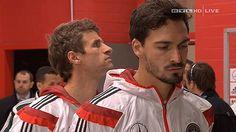 Thomas Muller, Mats Hummels and Manuel Neuer. #DieMannschaft