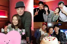 Ruby Lin Celebrates 42nd Birthday with Wallace Huo and Friends