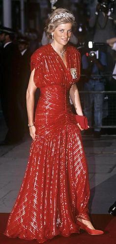 Cuando Diana de Gales salía de fiesta, brillaba de verdad