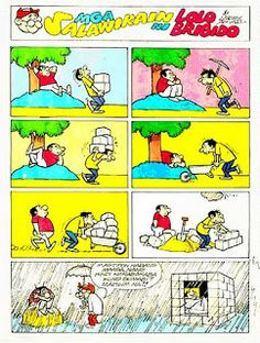 KOMIXPAGE: Larry Alcala - Mga Salawikain ni Lolo Brigido Slice Of Life, Comic Character, Filipino, Cartoon Characters, Bunk Beds, Larry, Philippines, Illustrators, Peanuts Comics