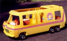 Who remembers this? I was obsessed with this Barbie Motorhome until I was at least 11. Perhaps it's the root of my obsession with whimsical motorhomes.