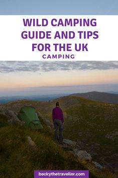 Thinking about trying wild camping in the UK? Here are all the top wild camping essentials and top tips for wild camping in the UK. Includes where to wild camp, what you need to take when wild camping and more useful tips from a UK camper and hiker. Camping Guide, Camping Checklist, Camping Essentials, Camping Hacks, Camping Ideas, Camping Stuff, Camping Lights, Tent Camping, Outdoor Camping