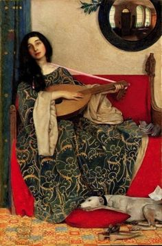 Frank Cadogan Cowper - Mariana in the South, 1906