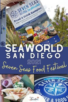 SeaWorld San Diego Seven Seas Food Festival returns for 2021 with new menu items, entertainment and additions to this popular SoCal annual event! Get the details on what food, drinks and local craft brews will be available, what changes you need to know before your visit, how to get a Sea World Sampler Lanyard for dining and what's not going to be available at the event this year. #SeaWorld #SeaWorldSanDiego #SanDiego #FamilyTravel #TravelTips #FoodFestival #SoCal #California #ThemePark California With Kids, California Travel, Family Road Trips, Family Travel, America's Finest, Great Wolf Lodge, Sea Crafts, Adventures By Disney, Photography Guide