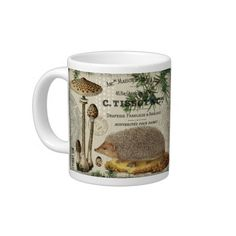 Vintage Hedgehog mug - beautiful!