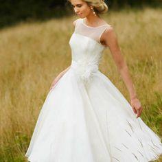 Unique 1950s Wedding Dress!