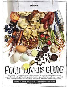 Atlanta Magazine Food Lovers Guide