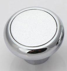 Round shape zinc alloy furniture cabinet drawer single hole knobs