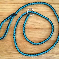 Diamond-braided paracord slip lead dog leash. Measures five feet in length… Pet Accessories, Dog Toys, Cat Toys, Pet Tric