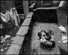 Bruce Davidson, New York City. 1966. East 100th Street.