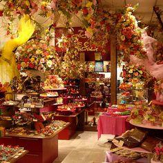 Teuscher Chocolate Store!