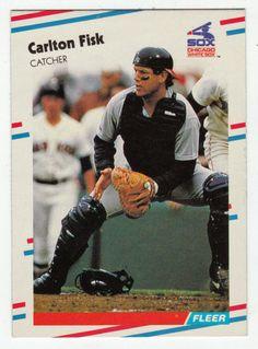 Carlton Fisk # 397 - 1988 Fleer Baseball
