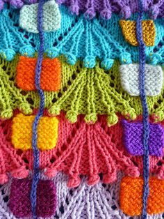 knitting, texture, color, what more does a girl need??!!  Inspiration : ). It's got that too!