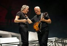 Roger Waters and David Gilmore