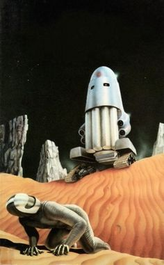 Patrick Goodfellow - The killing thing, 1972. / The Science Fiction Gallery