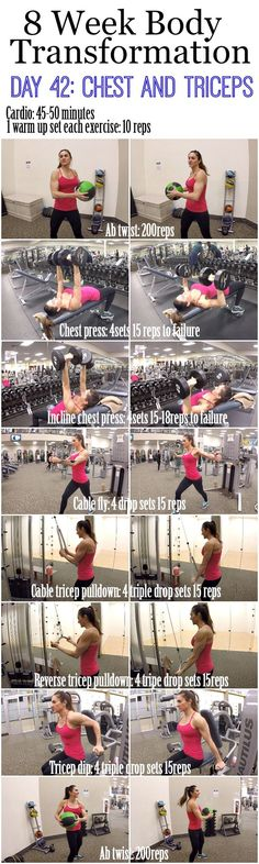 Chest and Triceps Workout | Posted By: AdvancedWeightLossTips.com